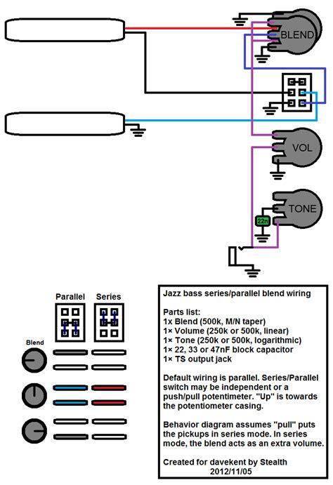 wiring question jazz bass v b t series parallel talkbass