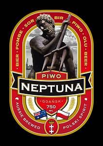 beer label design piwo neptuna bart kowalski With beer label stickers