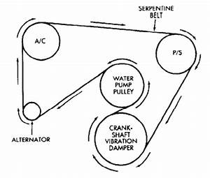 E46 Serpentine Belt Diagram