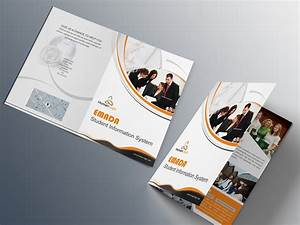 Free bi-fold brochure psd on Behance