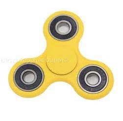 Yellow Spinner Fidget