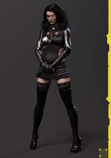 heres  cyberpunk  yennefer    vg