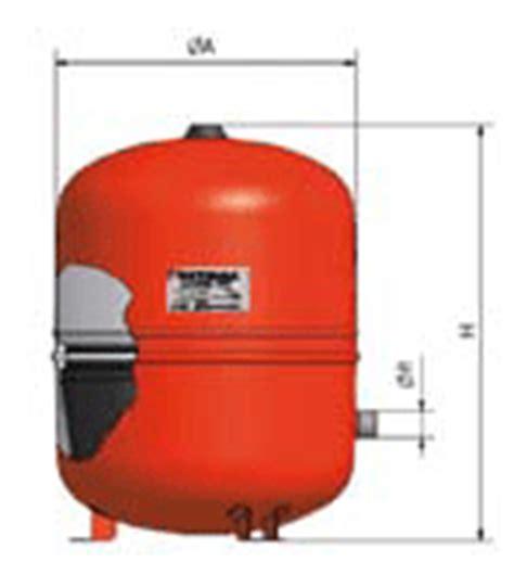 vase expansion sur pieds pour installation solaire 25l ou 35l