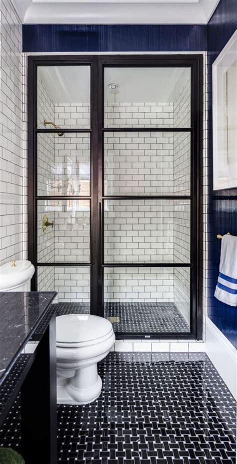 indogate com salle de bain carrelage noir et blanc