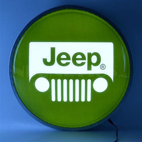 jeep backlit led lighted sign carfurniturecom
