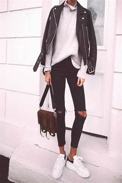 Outfits Casual Ripped Jeans Sweater Fall Moms