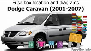 2001 Dodge Caravan Interior Fuse Box
