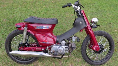Modifikasi Honda by Modifikasi Honda Cub 70 Merah Marun