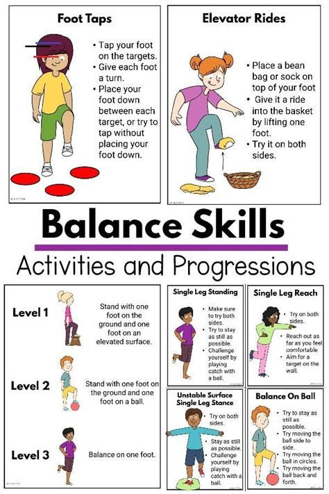 Please visit the brand's website to check the card balance. Balance Activities For Kids - #sensorythings - Get 20 different balance activities along with 8 ...