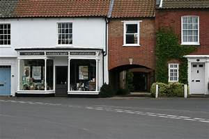 Bookshop and houses Burnham Market