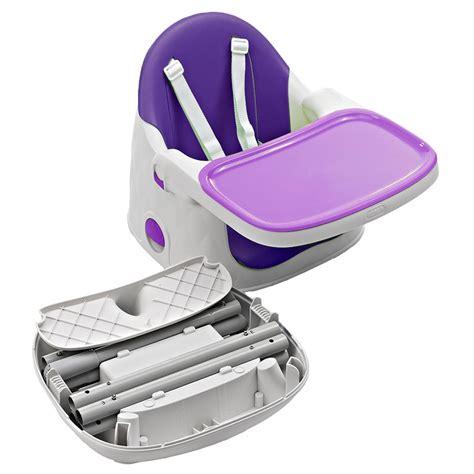 siege rehausseur chaise chaise haute bébé multi dine 3 en 1 violet de babytolove