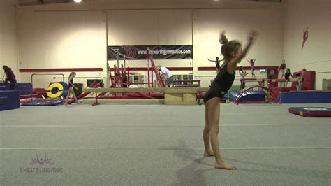 gymnastics forward roll to straddle stand youtube