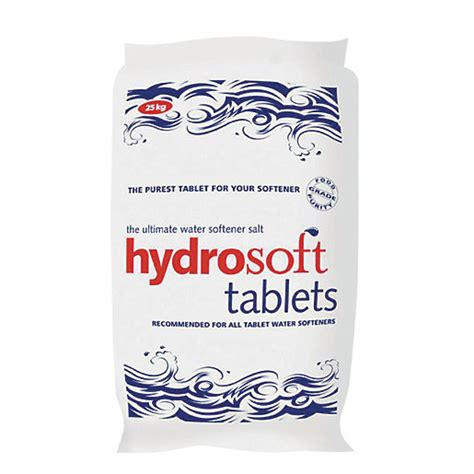 Hydrosoft Water Softener Salt Tablets 25kg Wickescouk