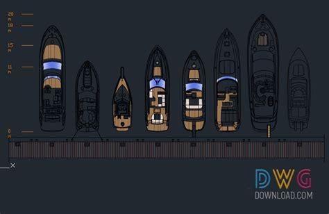 yachts cad blocks drawings 187 dwgdownload
