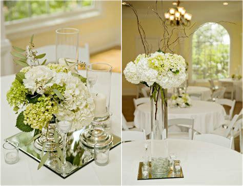 elegant floral centerpieces  wedding table