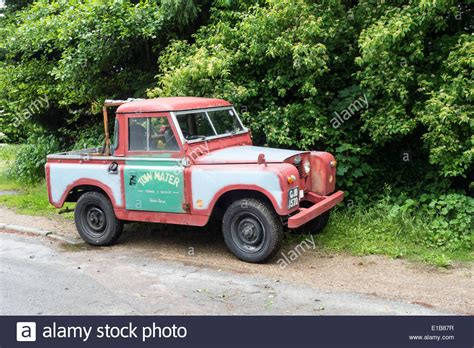 land rover pickup truck old land rover pickup truck stock photo 69704091 alamy