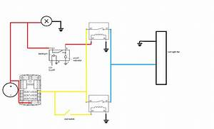 Led Light Bar Relay Wiring Diagram
