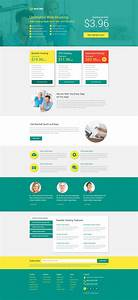 hosting responsive landing page template 53399 With landing page with video template