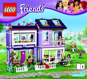 Bauanleitung Lego Friends : lego emma 39 s house instructions 41095 friends ~ A.2002-acura-tl-radio.info Haus und Dekorationen