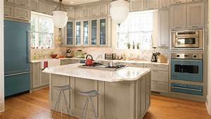 idea house kitchen design ideas southern living With kitchen colors with white cabinets with super hero wall art