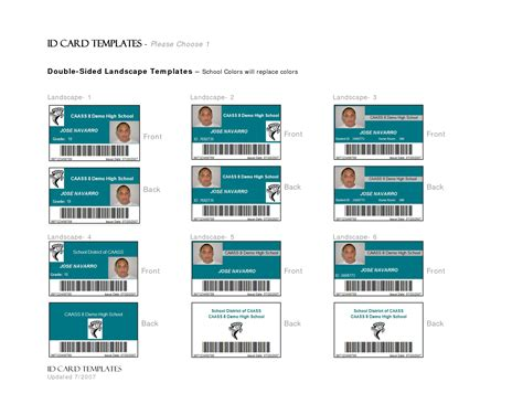 id badge template images id badge template microsoft
