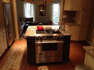 kitchen island with stove kitchen island with built in stove contemporary kitchen atlanta by atlanta curb appeal