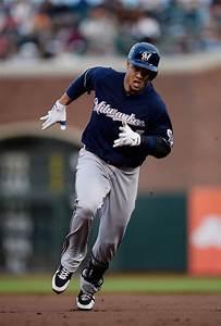 Carlos Gomez Photos Photos - Milwaukee Brewers v San ...