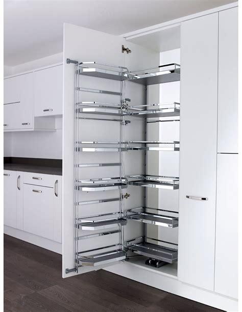 kitchen larder storage 600mm tandem larder 1700mm kessebohmer style solid 2124