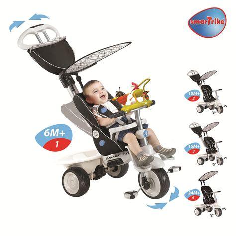 Smart Trike Recliner Stroller 4 In 1 smart trike 4 in 1 recliner child stroller tricycle inride