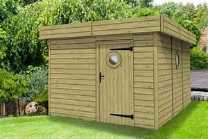 Abri De Jardin Toit Plat Pas Cher : abri toit plat tootan ~ Mglfilm.com Idées de Décoration