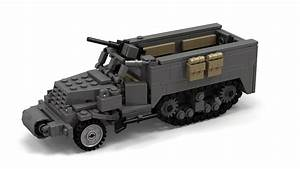 Lego Wwii M3 Halftrack Instructions