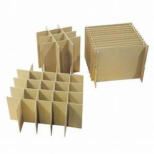 Carton Pour Verre : croisillon carton pour caisse d 39 emballage ~ Edinachiropracticcenter.com Idées de Décoration