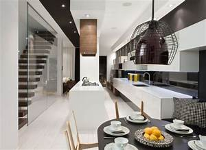Gorgeous modern interior design by cecconi simone for Modern house interior design kitchen