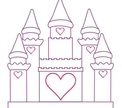 printable castle coloring pages disney castle
