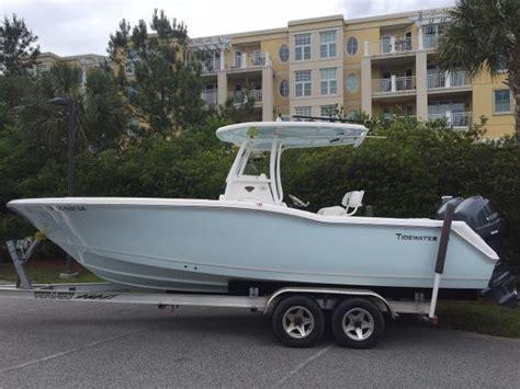 Boat Trailer Rental Charleston Sc by 2014 Tidewater 25 Cc 25 Foot 2014 Motor Boat In