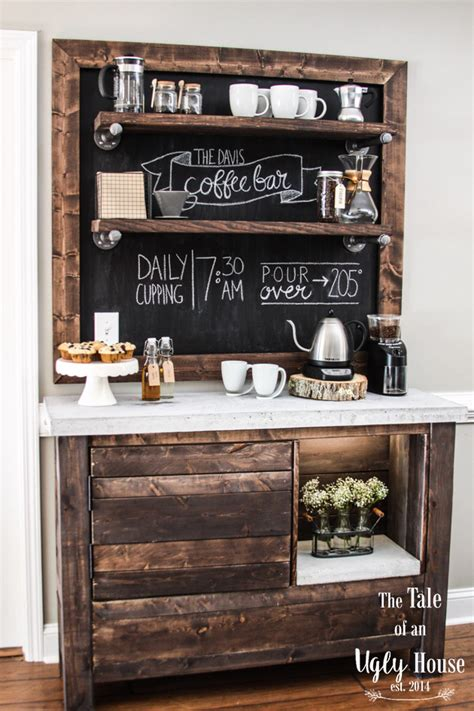87 coffee decor primitives by kathy wood box sign i take my coffee very seriously 6 x 2 5. 30 Charming DIY Coffee Station Ideas for All Coffee Lovers   Homelovr