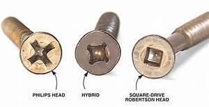 Q & A: Square Drive vs Phillips-Head Screws