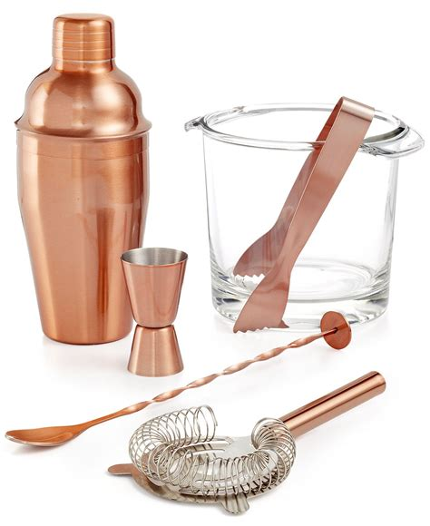 copper barware luminarc copper barware collection dining entertaining