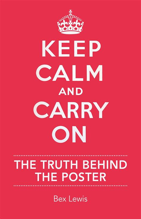 Keep The The by Keep Calm And Carry On The The Poster