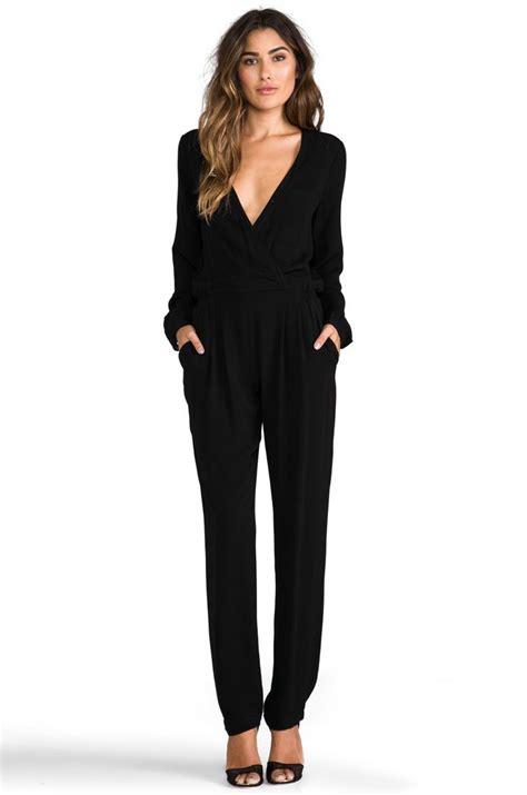 Best 25+ Black jumpsuit outfit ideas on Pinterest | Black jumpsuit Casual black jumpsuit and ...