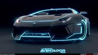black and blue lamborghini tron - Lamborghini Black And Blue