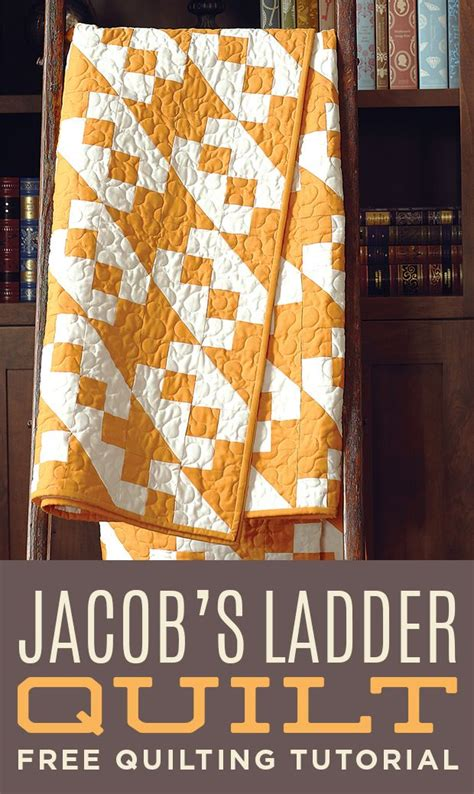 missouri quilt co make this stunning jacob s ladder quilt with from