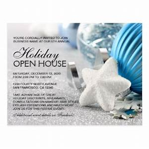Business Holiday Open House Gifts on Zazzle UK