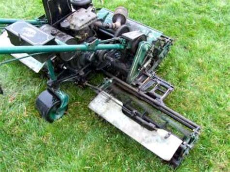 locke triplex reel lawn mower  hp  motor