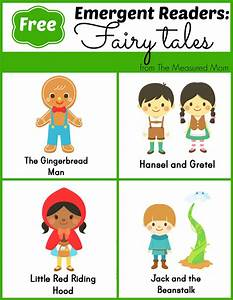 Fairy Tale Emergent Readers | Reading & Writing Readiness ...
