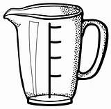 Measuring Cup Clipart Gelas Animasi Cups Capacity Lineart Vektor Gambar Liter Garis Ukur Mengukur Transparent Svg Messbecher Klascement Openclipart Clip sketch template