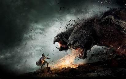Chimera Artwork Wallpoper Wrath Titans