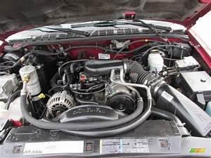 2003 Chevrolet S10 Ls Crew Cab 4x4 4 3 Liter Ohv 12v