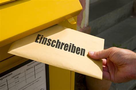 nachvollziehbare briefsendungen vertrauen ist gut