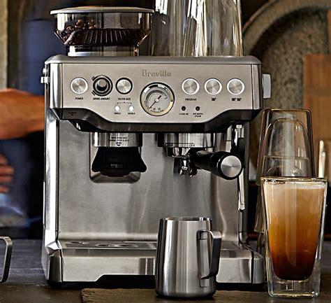 barista espresso machine breville barista express espresso machine 187 gadget flow